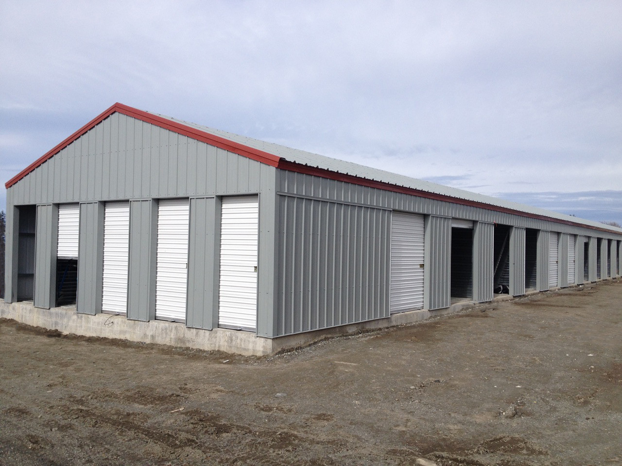 HCI Steel buildings specializes in custom built metal storage sheds. Metal storage sheds provide a great outdoor storage units for what ever your needs ... & HCI Steel manufactures and builds metal storage units | HCI Steel ...