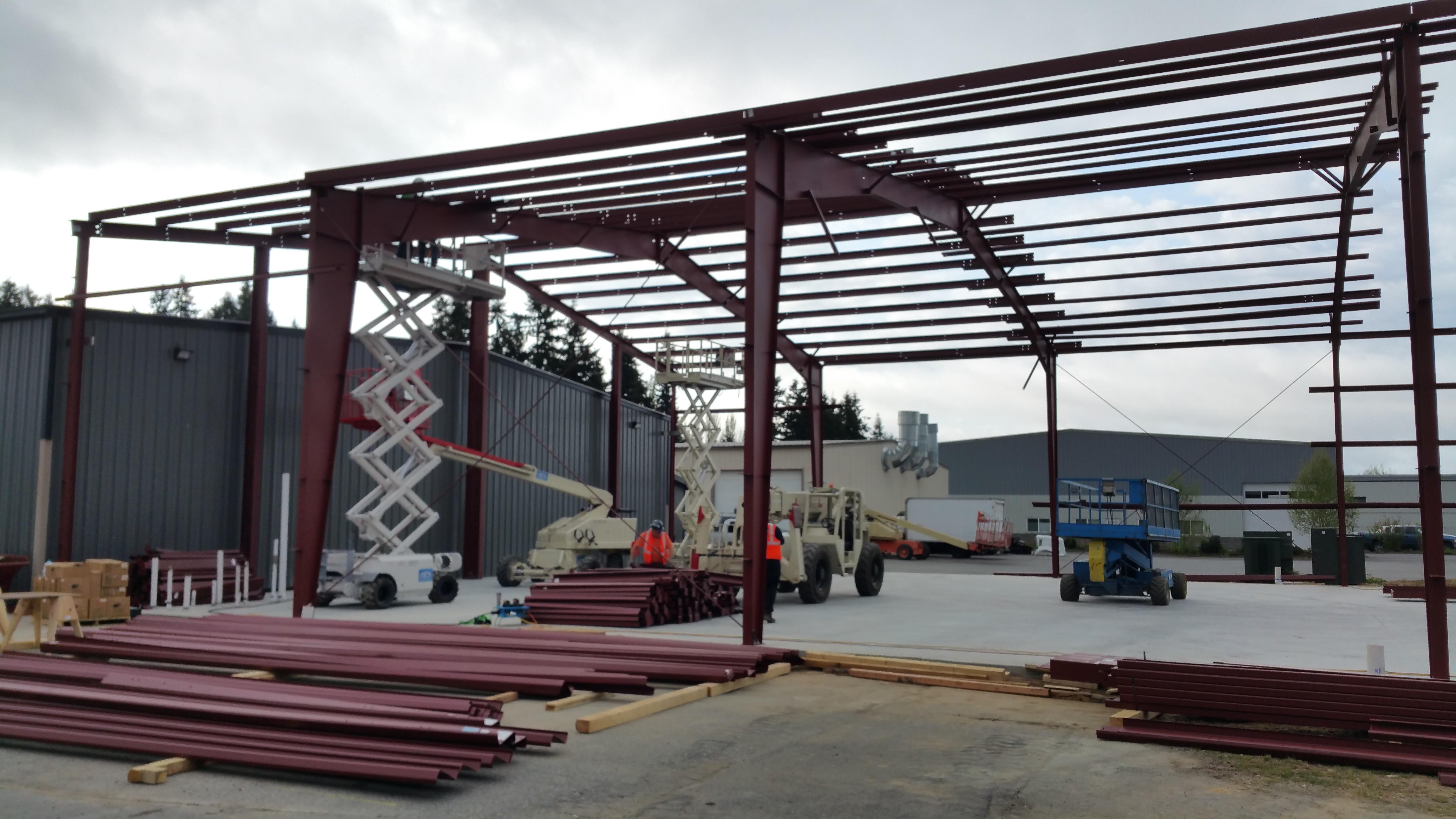 Hci Steel Buildings Going Up 24 Hci Steel Buildings